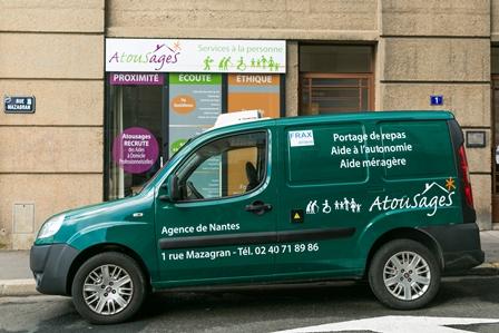 Livraison repas à domicile Nantes
